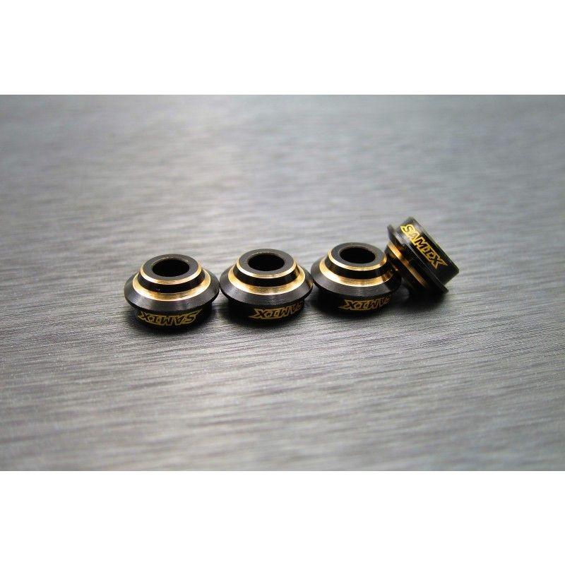 SAMIX Enduro brass shock spring under cap 4pcs