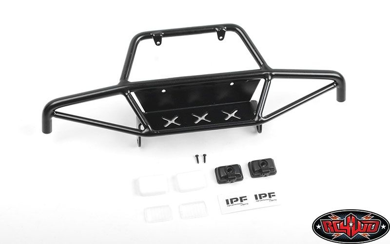 Tri-X Steel Stinger Front Bumper w/ IPF Lights