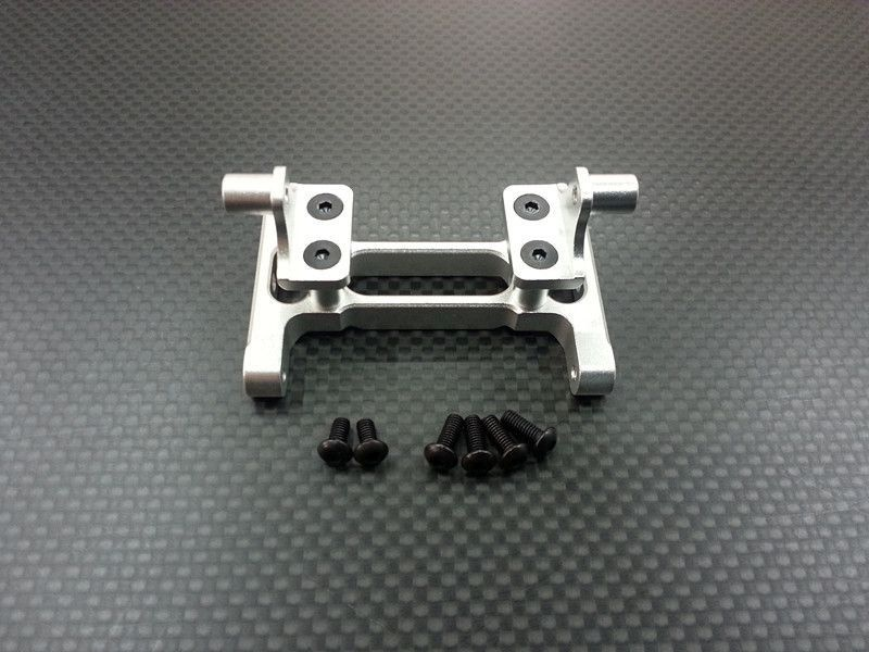 Al rr CHASSISMt+SCREWS1PR SET KingHauler/GlobeLiner silver