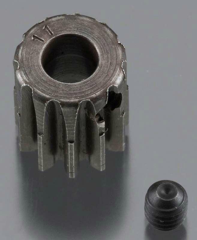 Extra Hart 5mm Bohrung .8 Modul Ritzel 11 Zähne