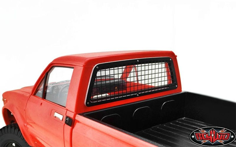 SLVR Rear Window Guard for Hilux & Bruiser & Mojave
