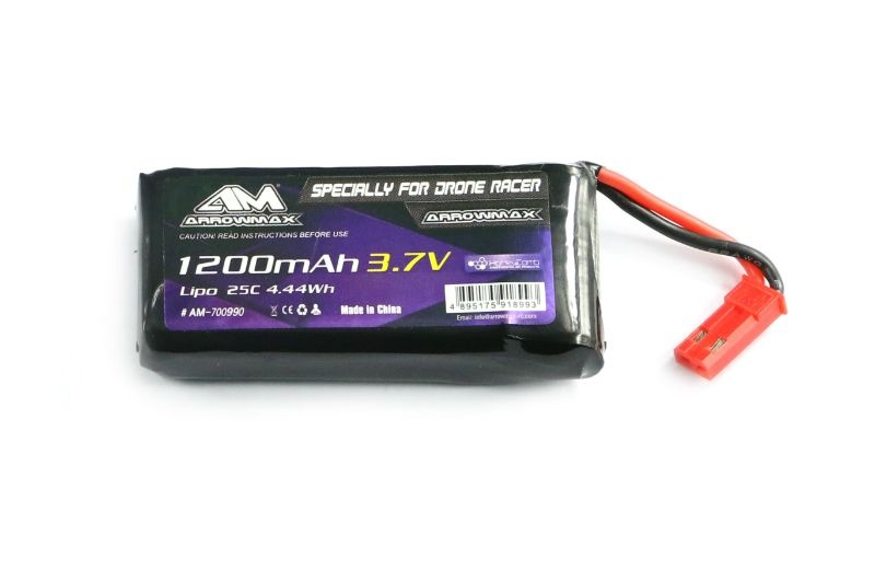 AM Lipo 1200mAh 3.7V Specially For Kyosho Drone Racer