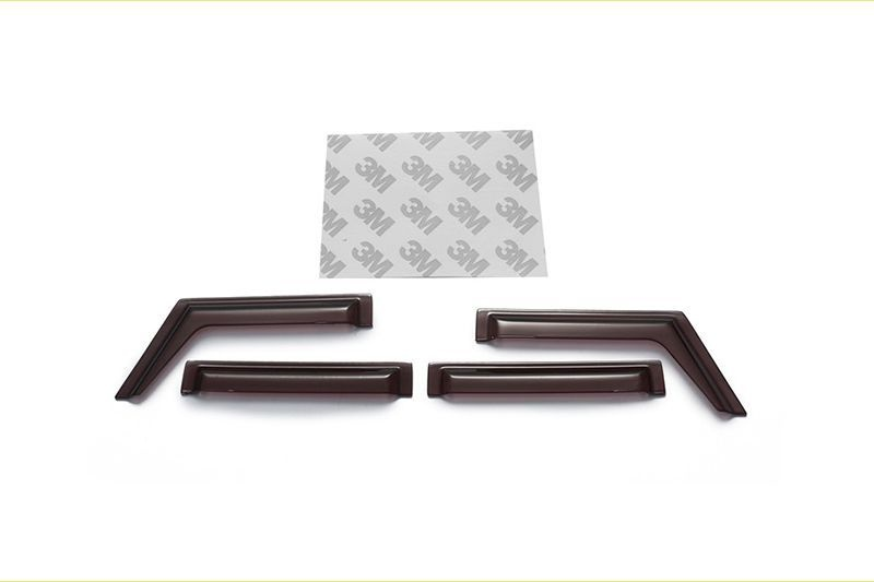 SCALE ACCESSORIES: RAIN SHIELD FOR TRX-4 DEFENDER -5PC SET