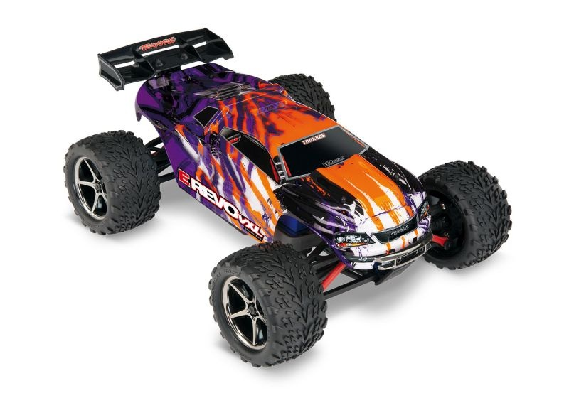 TRX E-Revo 4x4 VXL purple/violett RTR+12V-Lader+Akku