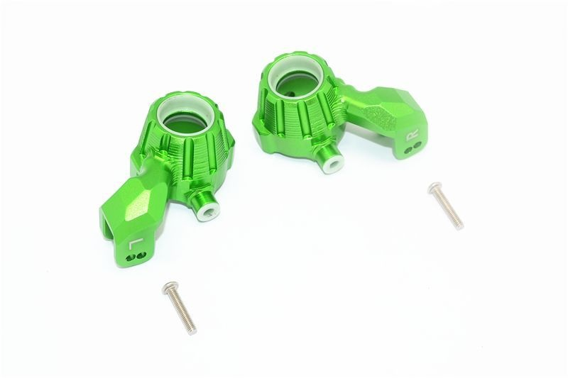 ALUMINUM FRONT KNUCKLE ARMS -4PC SET green