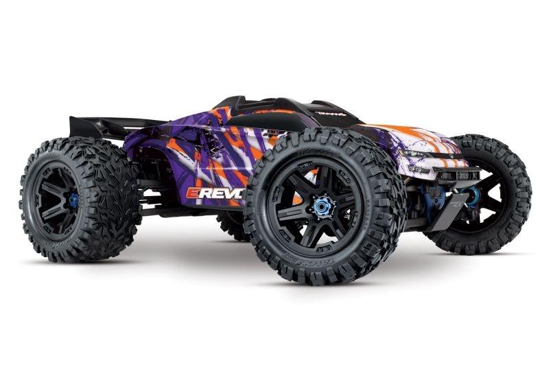 TRAXXAS E-Revo BL 2.0 4x4 VXL purple RTR ohne Akku/Lader