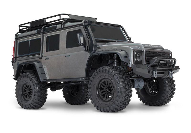TRAXXAS TRX-4 LR Defender 4x4 silber RTR ohne Akku/Lader