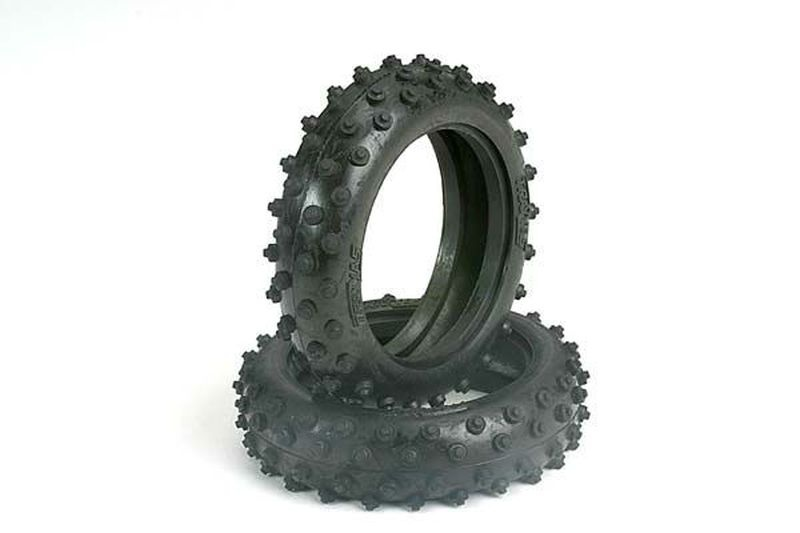 TIRES, SPIKED (FRONT)