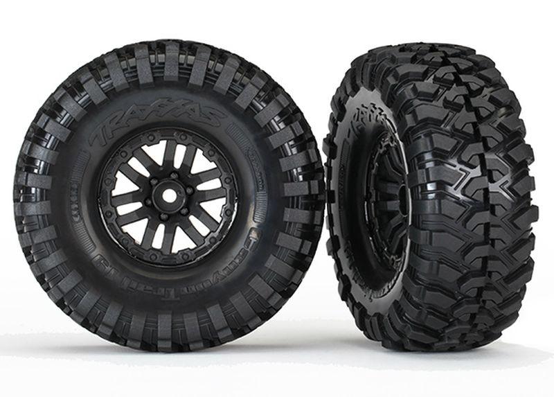 Reifen auf Felge verklebt (TRX-4 Felge, Canyon Trail 1.9 tir