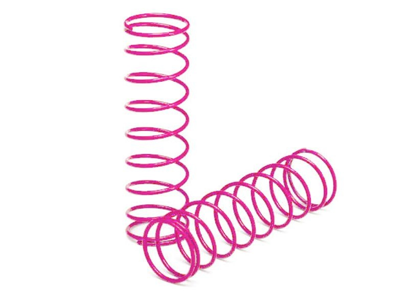 Dämpferfeder hinten pink (2)