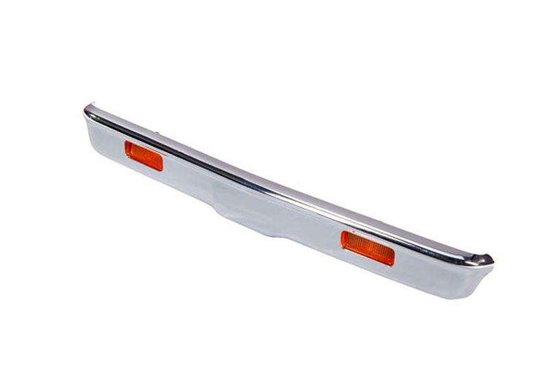 Bumper vorn chrome + Halter + Lampen + Schrauben