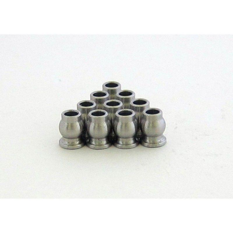 SAMIX SCX10 Samix stainless steel 5.8mm flange ball