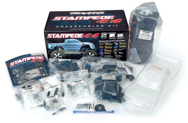 TRAXXAS Stampede 4x4 Kit vormontiert ohne Elektronik