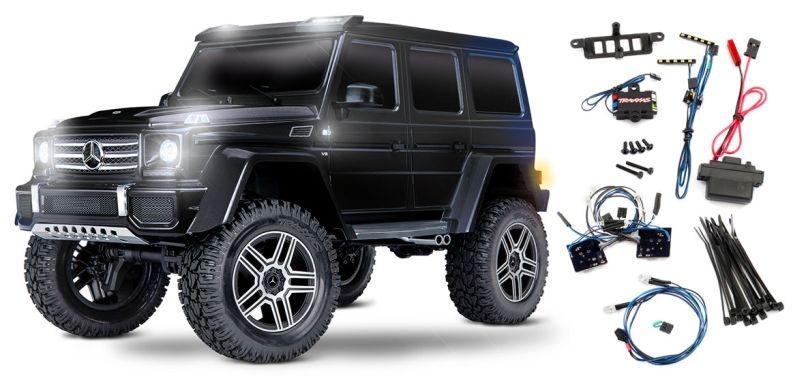 TRAXXAS TRX-4 Mercedes G 4x4² schwarz RTR ohne Akku/Lader