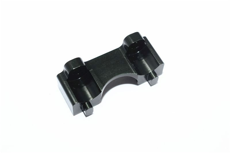 ALLOY FRONT SHOCK MOUNT - 1PC black