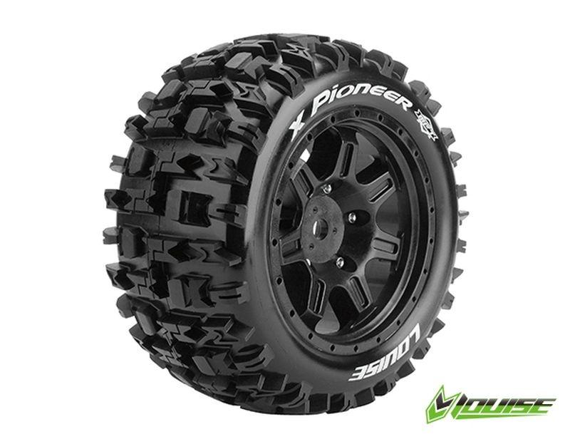 X-PiONEER Sport-Reifen   Felge schwarz