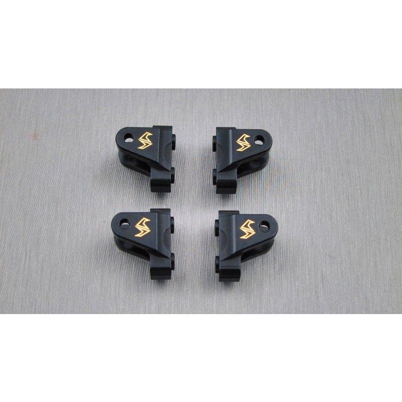 SAMIX CFX-W brass lower shock / suspension link mount