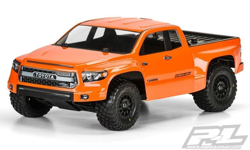 Pro-Line Toyota Tundra TRD  Karo klar True Scale