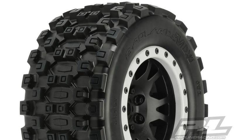ProLine Badlands MX43 All Terrain Truck Reifen v/h (2)