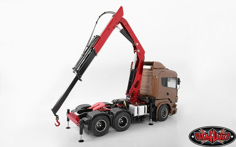 Hydraulic Truck Mounted Crane Model