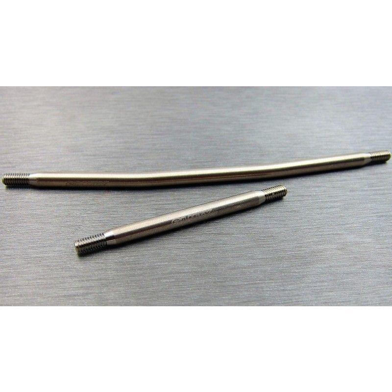 SAMIX CFX-W titianium std steering link kit