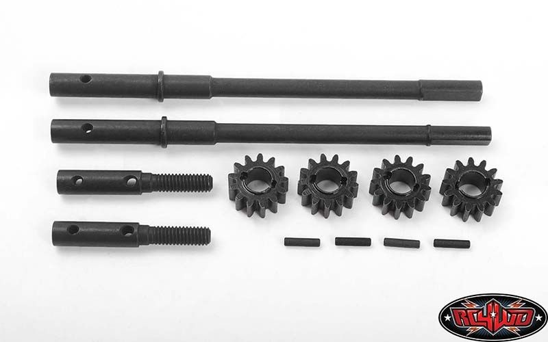 Replacement Rear Axles for Portal Rear Axles for Axial AR44