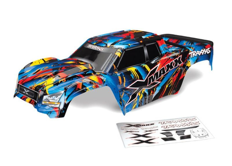 Karo X-Maxx Rock n Roll (lackiert + Aufkleber) mit Tailgate