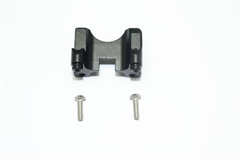 ALUMINUM REAR DAMPER MOUNT -3PC SET black