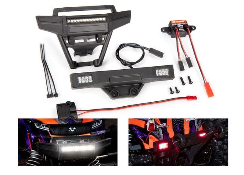 HOSS Lichter-Set komplett mit Power Supply für 9011 Karo