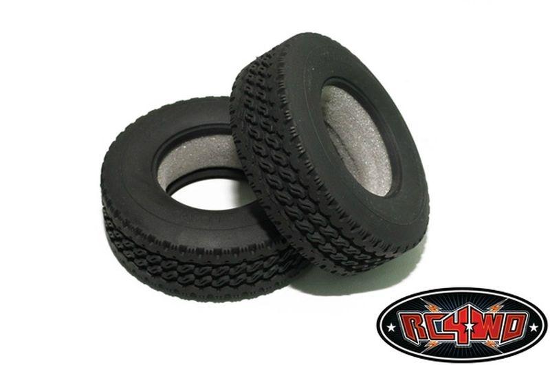 Hauler Super Wide 1.7 Commercial 1/14 Semi Truck Tires