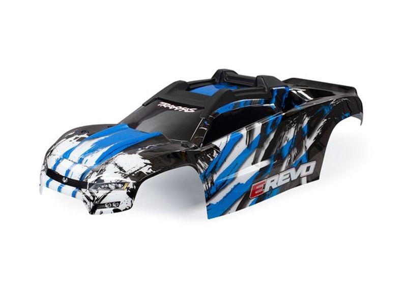 Karo E-Revo blau mit Aufkleber