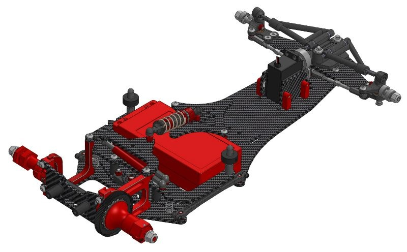 CRC WTF-1-FC16 Formel-Chassis