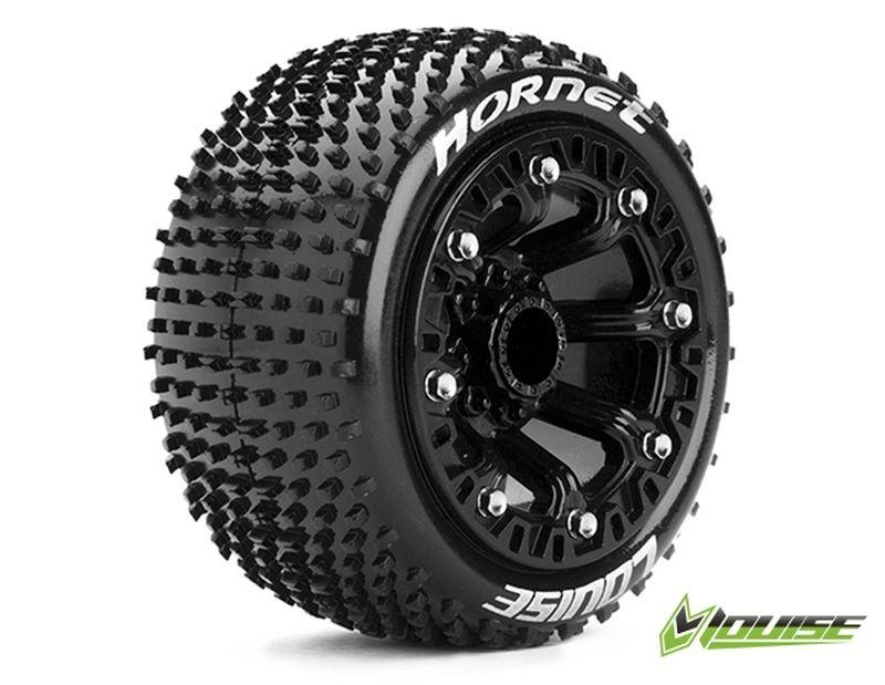 ST-HORNET 2.2 soft Reifen auf Felge schwarz