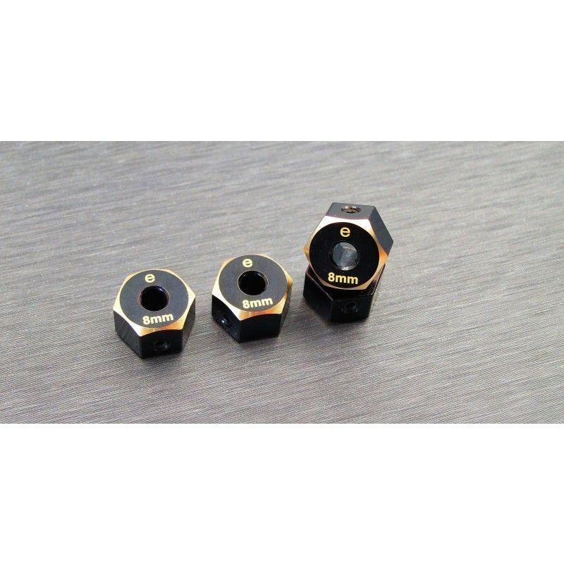 SAMIX Enduro brass hex adaptar (8mm)