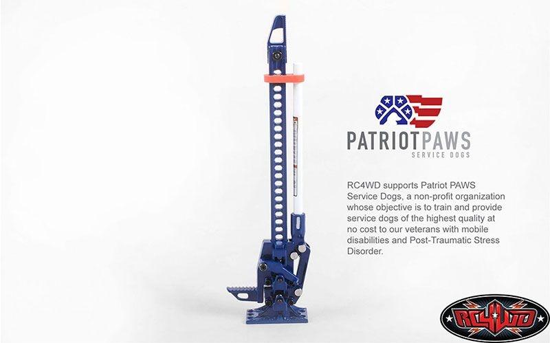 RC4WD 1/10 Hi-Lift® Patriot Edition Jack
