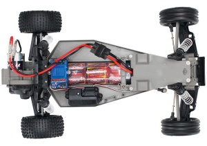 TRAXXAS Bandit blauX Buggy RTR mit Akku/+12V Lader