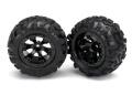 Reifen & Felgen montiert (Geode schwarz, Canyon AT tires)