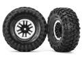Felgen&Reifen, montiert (TRX-4 satin beadlock mit Canyon Tra