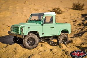 RC4WD Gelande II RTR W/ 2015 Land Rover Defender D90 Pick-Up