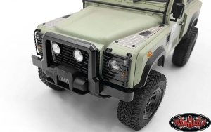 Metal Bumper W/Lights for 1/18 Gelande D90