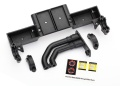 Chassis Tray, Driveshaft clamps, Fuel Filler (schwarz)