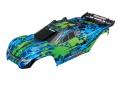 Karo Rustler 4X4 VXL grün +Decals mit Karohalterung