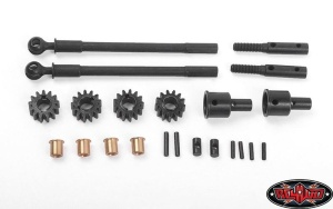Replacement CVD Axles for Portal Front Axles for Axial AR44