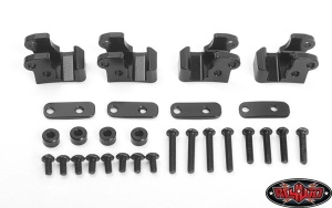 Leaf Spring Mounts for Axial AR44 Single Piece Axle Housing
