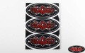RC4WD Logo Decal Sheets (4)