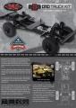 RC4WD Gelande II Truck Kit LWB 1/10 Chassis Kit