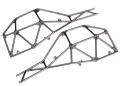 Tube-Chassis, Seiten-Sektion l&r (satin schwarz chrome-plate