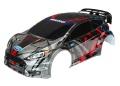 Karosserie Ford Fiesta ST Rally, lackiert + Decals