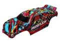 Karosserie Rustler Hawaiian, lackiert + Decals