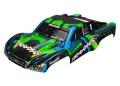 Karo Slash 4X4 grün mit blau (lackiert + Aufkleber)